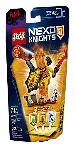 LEGO Nexo Knights 70339 Ultimate Flama Building Kit (67 Piece) by LEGO