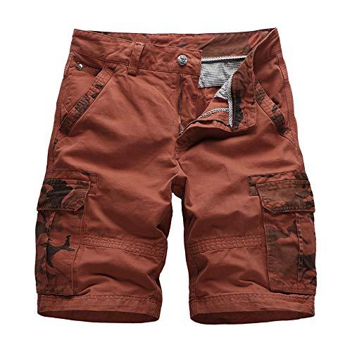 YURACEER Sommer Hosen Herren Kurze Hosen Aturestory Leinen Baumwolle Shorts für Sommer Casual Fitting Bord Kurze Mens Pure Colour Shorts Atmungsaktiv Schnell trocknend x1