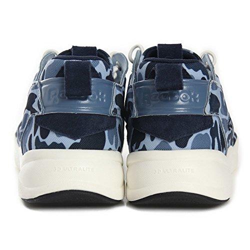 Reebok Furylite Camo, Herren Sneaker Blue Peak/Slate/Denim
