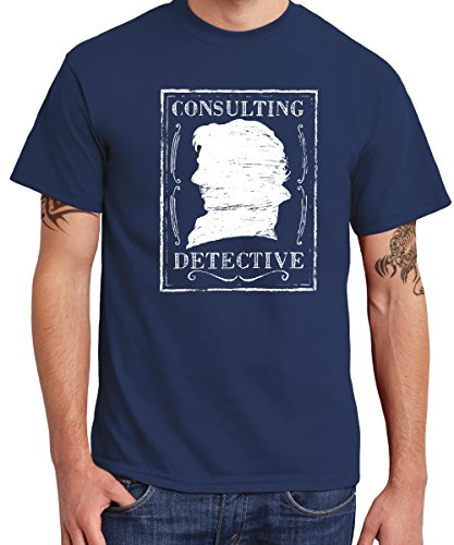 -- Consulting Detective -- Boys T-Shirt Navy