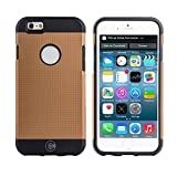 iPhone 6S Schutzhülle, iPhone 6Fällen von Kabel und Fall–Für die iPhone 6und iphone6s [Rutschfest] [Heavy Duty] [die passgenauen] Sorgen iPhone 6(4,7) Armor Schutzhülle Slim, Gold