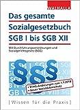 Das gesamte Sozialgesetzbuch SGB I bis SGB XII: Mit Durchführungsverordnungen und Sozialgerichtsgesetz (SGG)