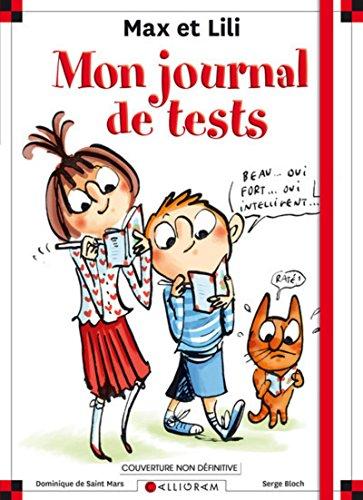 Carnet de tests Max et Lili - Découvre qui tu es !