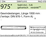 Product icon of 1 Gewindestange, M10 , 1000 mm lang , 4.6 , verzinkt,