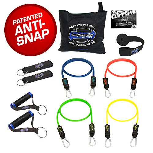 bodylastics-11-pcs-resistance-bands-basic-tension-set-58-lbs-with-4-anti-snap-exercise-tubes-heavy-d