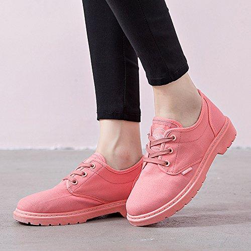 L'automne et l'hiver low boots bottes Martin bottes bottes sport bottes tendance chaussures dentelle unique