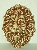 Steinfigur Löwenkopf