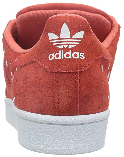 adidas - Superstar, Scarpe da ginnastica Donna Rosso (Rot (Tomato F15-ST/Tomato F15-ST/FTWR White))