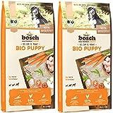Bosch 2 x 11,5 kg Bio Puppy Hühnchen & Karotten