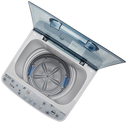 BPL 7.2 kg Fully-Automatic Top Loading Washing Machine (BFATL72F1, Grey)