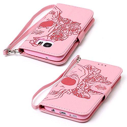 SAMSUNG PHONE CASE?XFAY HX456 Phone Case Samsung Galaxy Campanula Serie Handytasche Handyhülle Case ?PU Leder Flip Wallet Case Cover Schutzhülle für Samsung Galaxy A310-14 Farbe-14