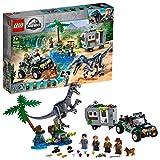 LEGO - L'affrontement du Baryonyx : la Chasse au trésor Jurassic World Jeux de Construction, 75935, Multicolore