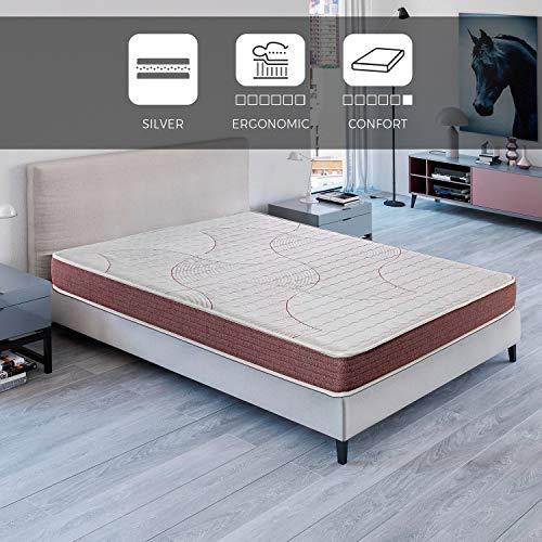 ROYAL SLEEP Colchón viscoelástico 150x200 de máxima Calidad, Confort, adaptabilidad y firmeza Alta, Altura 19cm - Colchones Dormant
