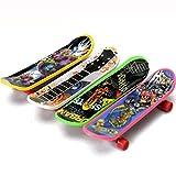 Kinder Spielzeug, erthome 4PC Mini Griffbrett Finger-Skate-Board Micro Skateboard Spielzeug Geschenk