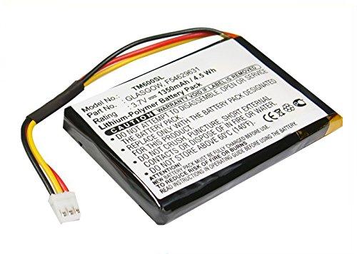 subtel® Batteria Premium Compatibile con Tomtom One V1, One 1st Edition, One Europe, One Regional (1350mAh) F54629631,Glasgow Batteria di Ricambio, accu Sostituzione, sostituto