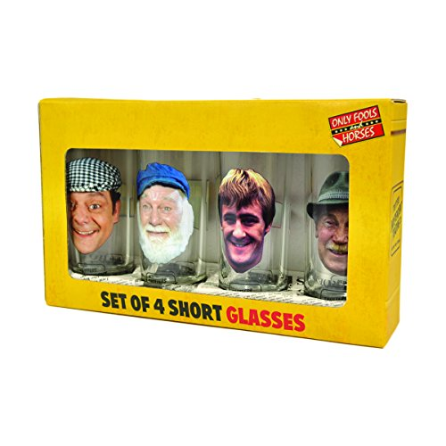 Only Fools and Horses Official Short Glasses Set in Presentation Box