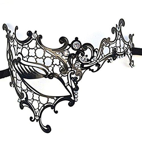 DSstyles Laser Cut Cosplay Metall venezianischen Maskerade Hübsche -