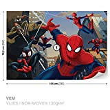 Spiderman Marvel Papier Peint Photo Papier peint photo Décoration Murale, M - 104cm x 70.5cm