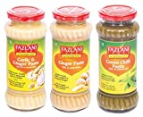 #8: Ready To Use 3 in 1 Ginger Garlic + Ginger + Green Chilli Paste By Fazlani Foods Combo, 300 gms