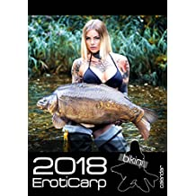 Bikini ErotiCarp - alta calidad, calendario de pesca erótica 2018 - 15 páginas! - calendario erótico de pesca de la carpa