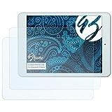 Bruni Schutzfolie für Blaupunkt Polaris Folie, glasklare Bildschirmschutzfolie (2X)
