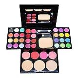 butterme professionale palette di trucco cosmetico Set–-24colori ombretto + 8colori rossetto + 4colori Blush + 3colori polvere