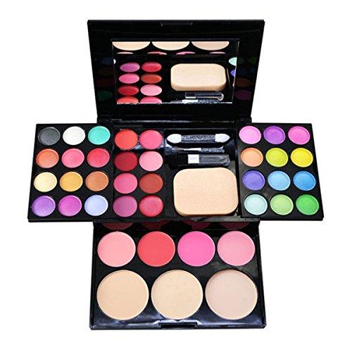 Butterme professionnel Palette de Maquillage Cosmétique Set -- 24 Couleurs Ombre à paupières + 8 Couleurs rouge à lèvres+ 4 Couleurs Blush+ 3 Couleurs poudre