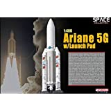 Dragon Models - Collection Spatiale - Ariane 5G Avec 1/400 Echelle Launch Pad 56230