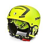 Briko Faito, Casco da Ski Unisex – Adulto, 969Y016/Yellow/Fl/Black, XL (59-64)
