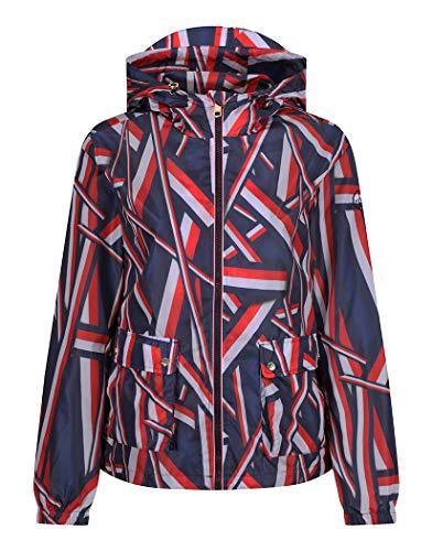 Tommy Hilfiger Cora Tech Windbreaker Womens Jacket Medium Global Blue