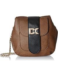 Diana Korr Women's Sling Bag (Brown) (DK76SBRW)