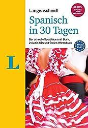 Langenscheidt Spanisch in 30 Tagen - Set mit Buch und 2 Audio-CDs: Der schnelle Sprachkurs (Langenscheidt Sprachkurse
