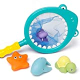 Best US Toy Baby Bath Tubs - Dr.Ox Bath Toys Floating Squirts Toy Fishing Shark Review