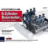 #1118 Porsche 911 6-Zylinder Boxer-Motor Bausatz Maßstab 1:4 • Lernpaket Sportwagen Modell Modellbau Lern-Spielzeug