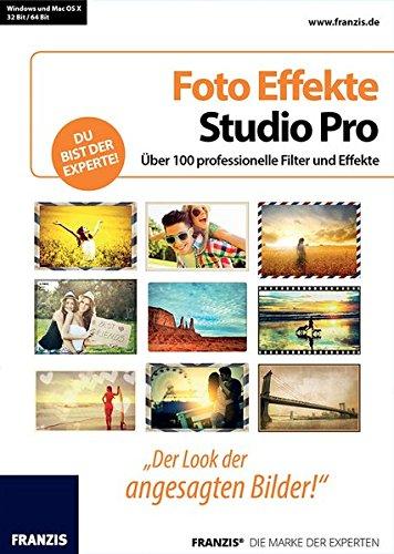 Franzis Verlag Foto Effekte Studio Pro [PC/Mac] (Studio Foto Filter)