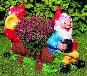 Blumen-Bank 80 x 55 cm 93607 bepflanzbare Figur aus Kunststoff