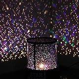 Aeeque® Romantisch/Schwarz Sternenhimmel Mini-Stern-Projektor/mit USB Kabel/LED Nachtlicht Projektor Lampe Kinder Nachttischlampe Schlafzimmer Haus Dekoration
