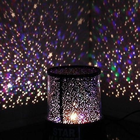 Aeeque Romantique [Noir] Lampe LED Master ciel étoile Étoilées mini
