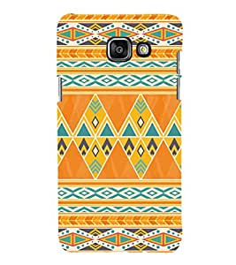 iFasho Animated Pattern colrful tribal design Back Case Cover for Samsung Galaxy A5 A510 (2016 Edition)