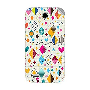 Garmor Designer Mobile Skin Sticker For Videocon A53 - Mobile Sticker