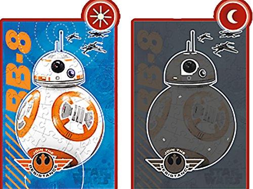 Brigamo 81641 – Leuchtet im dunkeln: Puzzle BB8 Droide aus Star Wars 7 Das Erwachen der Macht - 2