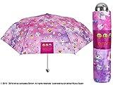 Perletti 75271Mini 50/8MAN 3Sekte bedruckt Emoji-Winddicht Mit Display Box Regenschirm