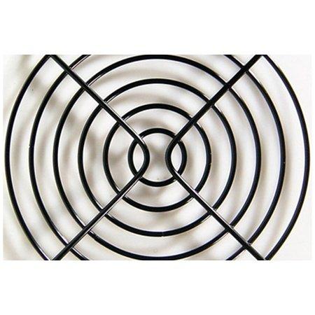 Lüftergitter für Axiallüfter für 92mm schwarz
