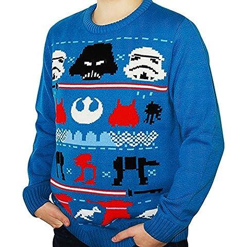 Oficial de Star Wars Darth Knit de Navidad, Jersey