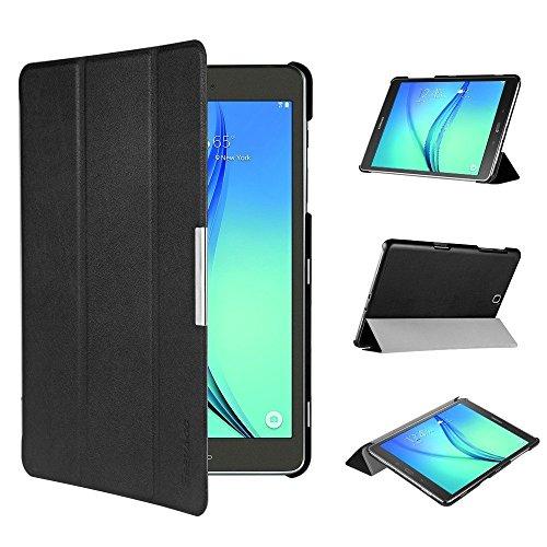 EasyAcc Ultra Slim Samsung Galaxy Tab A 9.7 Hülle - mit Standfunktion und Automatischem Schlaf Funktion PU Leder - Computer-tastatur Tisch Für