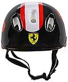 Ferrari: Casco per bambini e adolescenti, 56-60 cm Nero