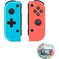 TUTUO Manette pour Nintendo Switch, Remplacement pour Switch Pro sans Fil Contrôleur, 6-Axis Gyro Double Moteur Compatible avec Le Commutateur Nintendo