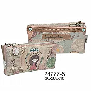 24777-5 Anekke Nature Estuches, 20 cm, Multicolor