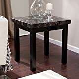 Galassia Faux Marble End Table by Weicheng (HK) Industrial Trade Co Ltd