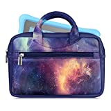 Fintie Tasche für Amazon Fire HD 8, Fire 7 2017, Fire 7 Kids Edition, Kindle eReader, Kindle Oasis, Kindle Paperwhite und Andere 6–8 Zoll Tablet / e-Reader - Premium Kunstleder Reise-Tragetasche (die Galaxie)